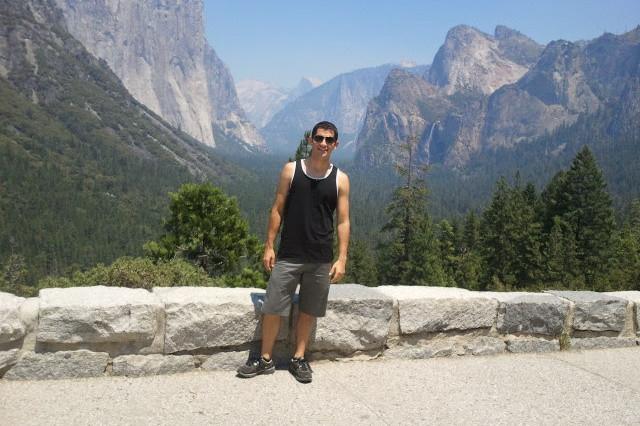 Jake Volz at Yosemite