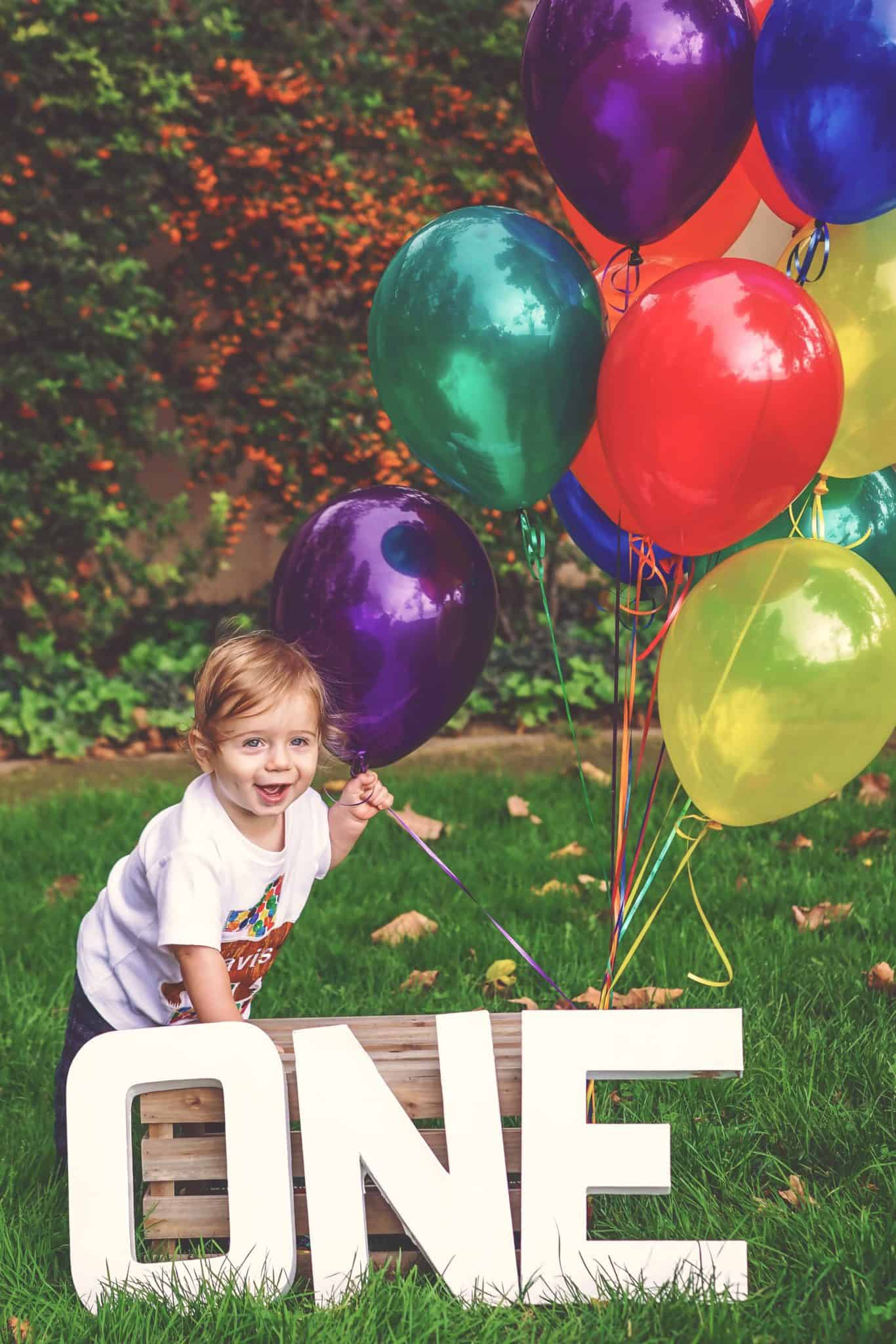 First birthday photo portraits in San Jose, CA