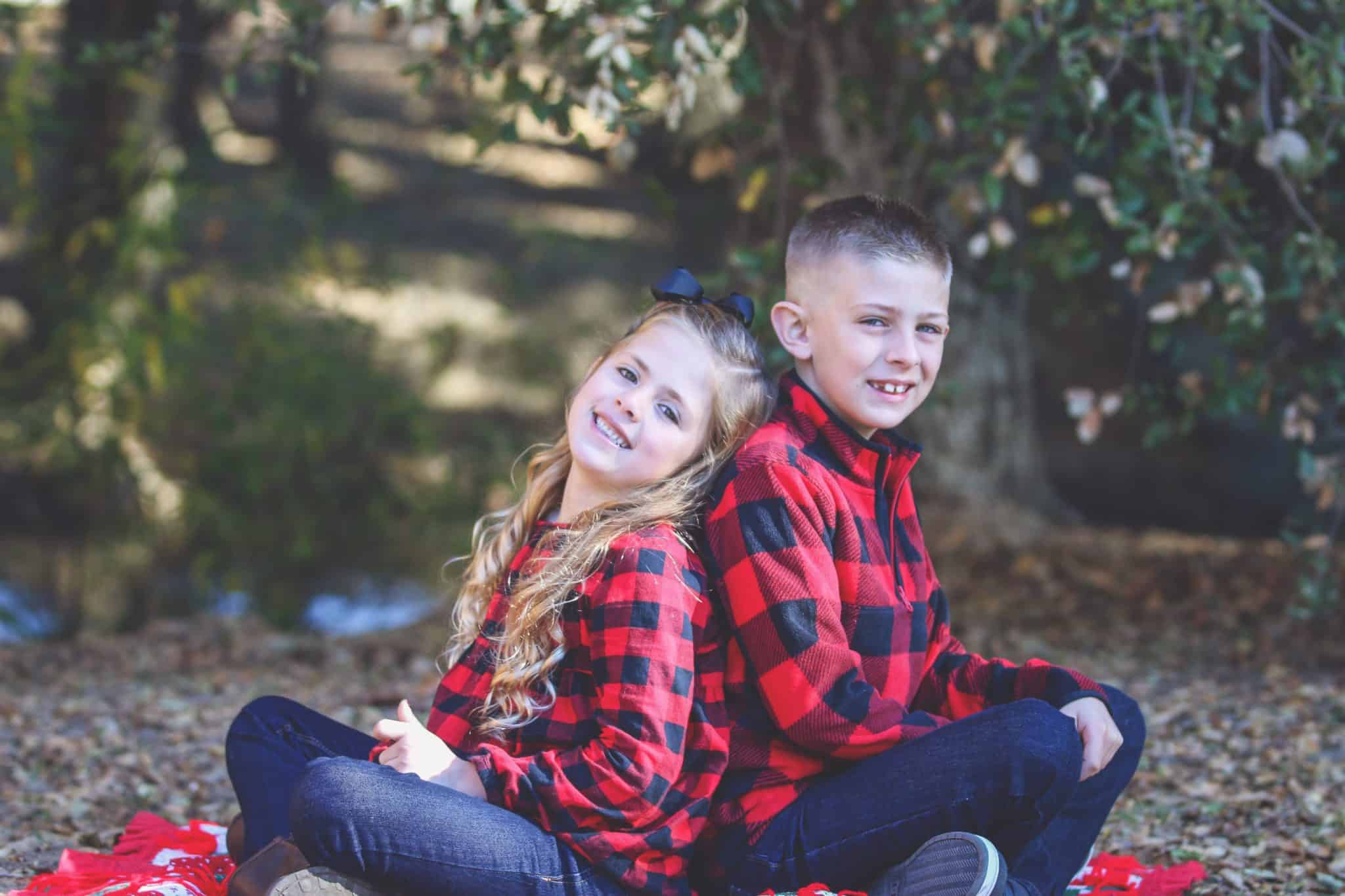 Family Christmas portraits in San Francisco Bay Area