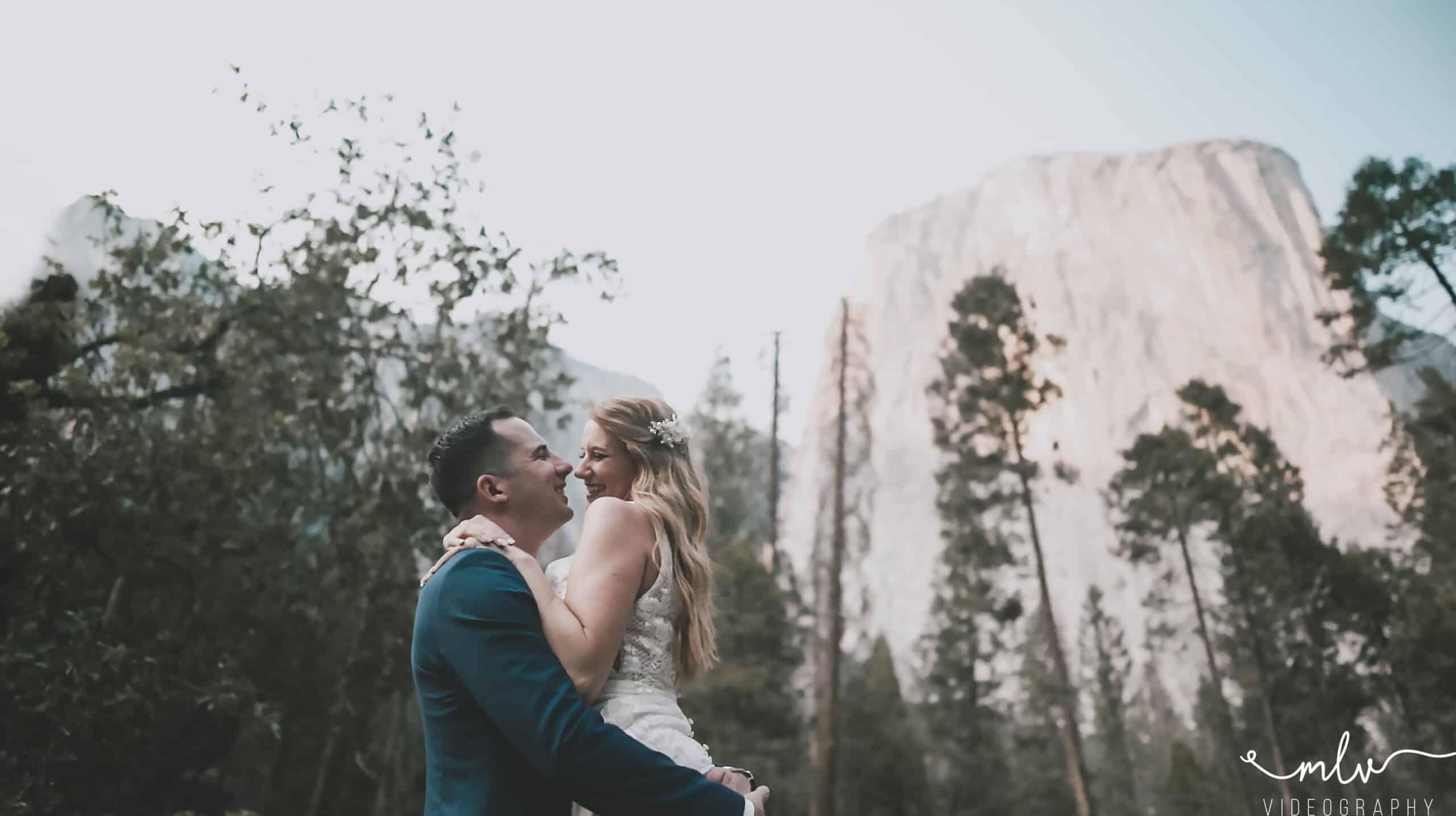 Yosemite National Park Wedding Elopement Photographer and Videographer