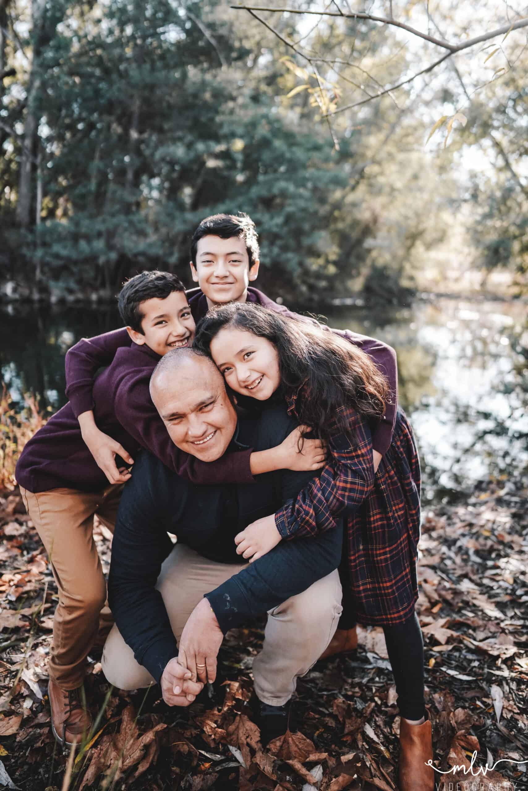 Vasona Lake Park Family Photography
