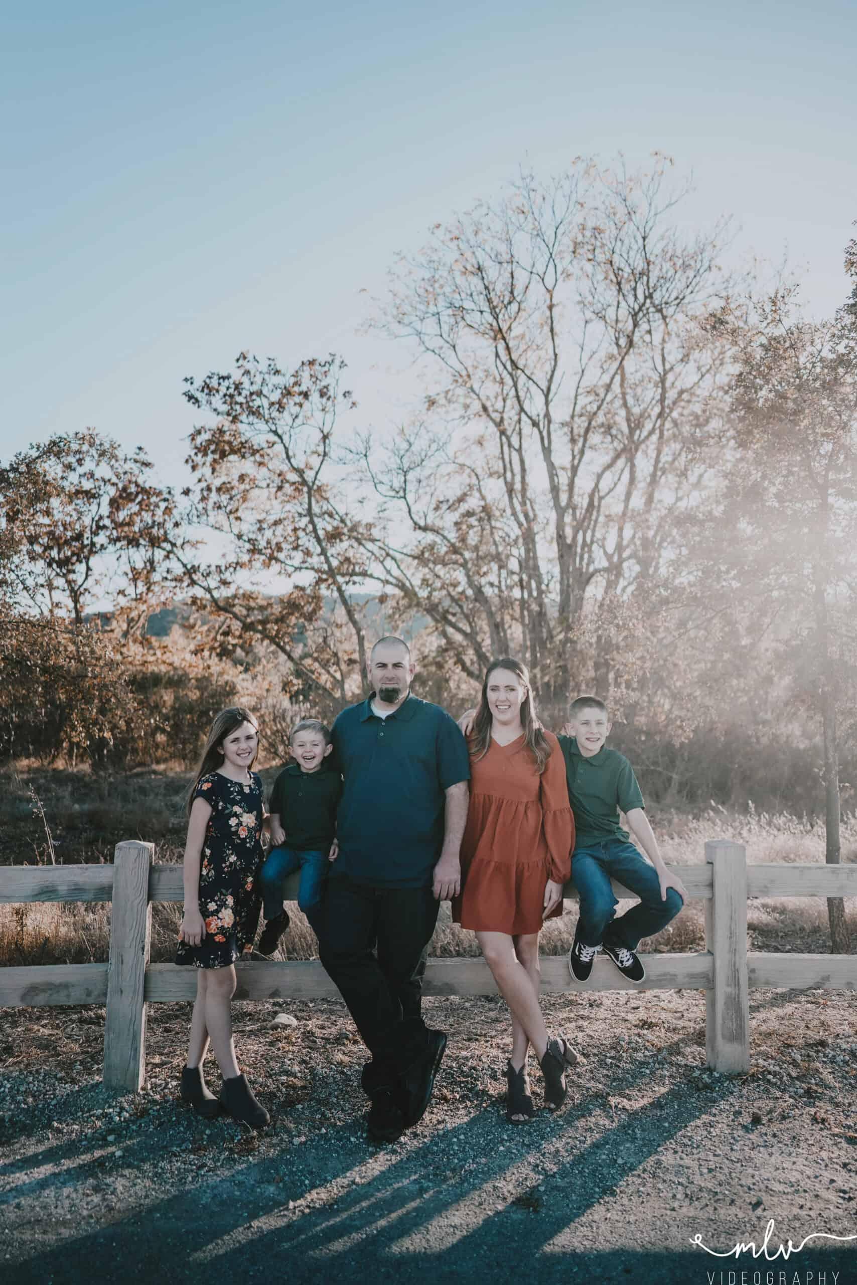 Family photographer in gilroy california