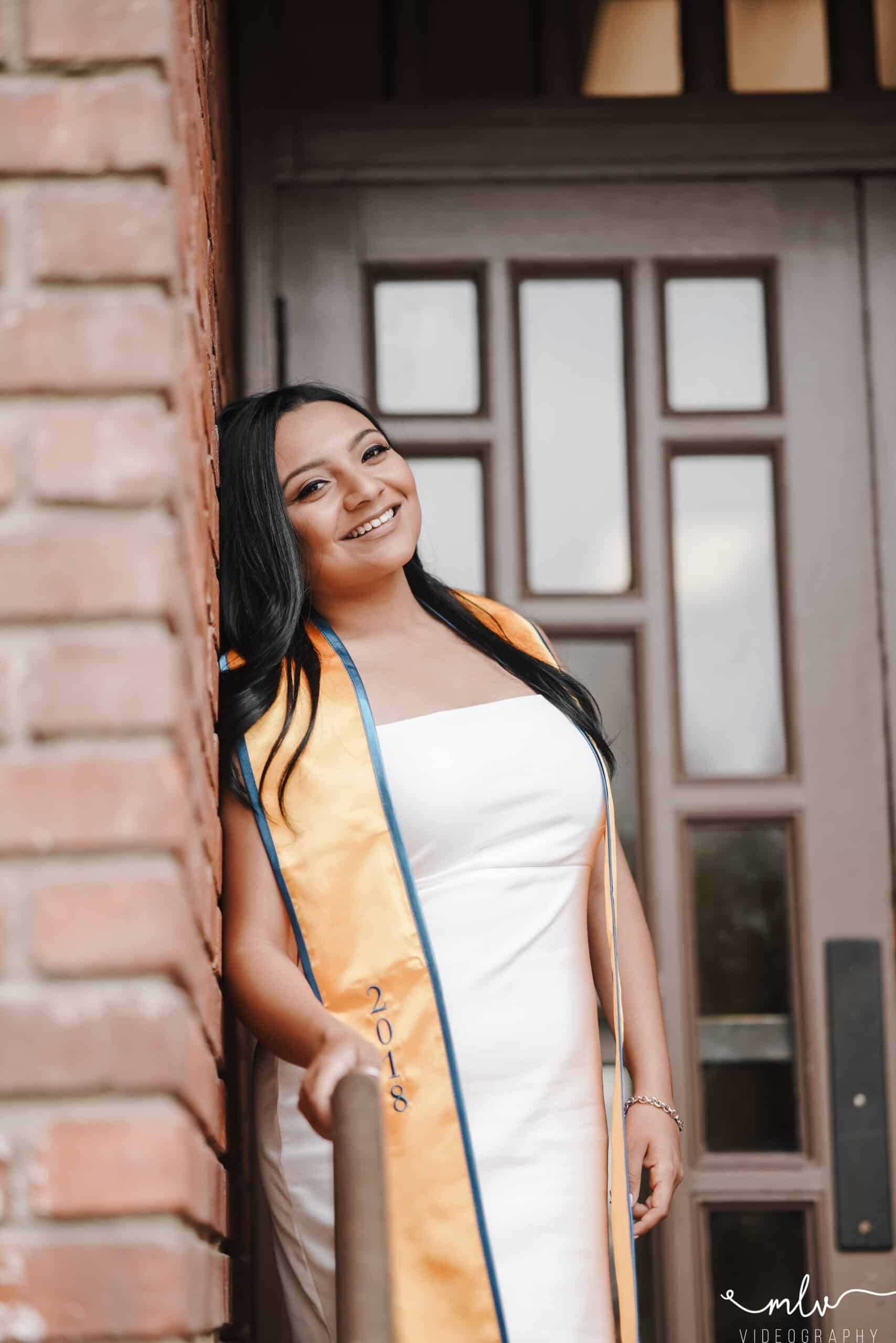 Graduation photography at San Jose State University with Andrea Solorio