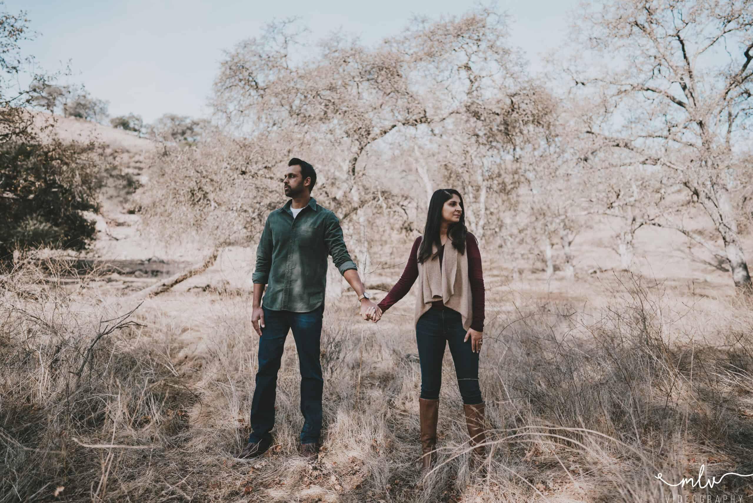 Bay Area Engagment Photographer in San Jose California Diverse Couple