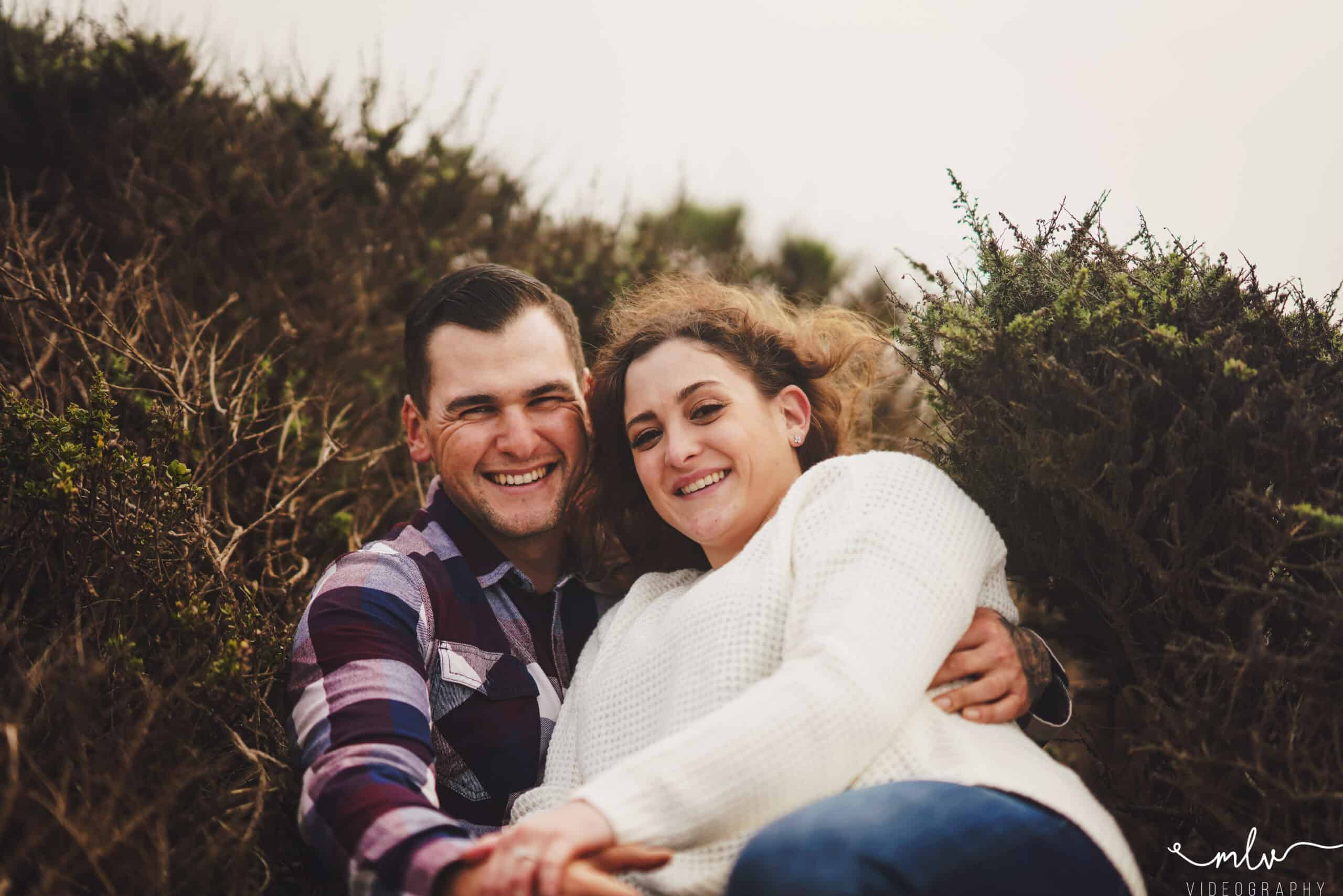 Engagement photography in Half Moon Bay California