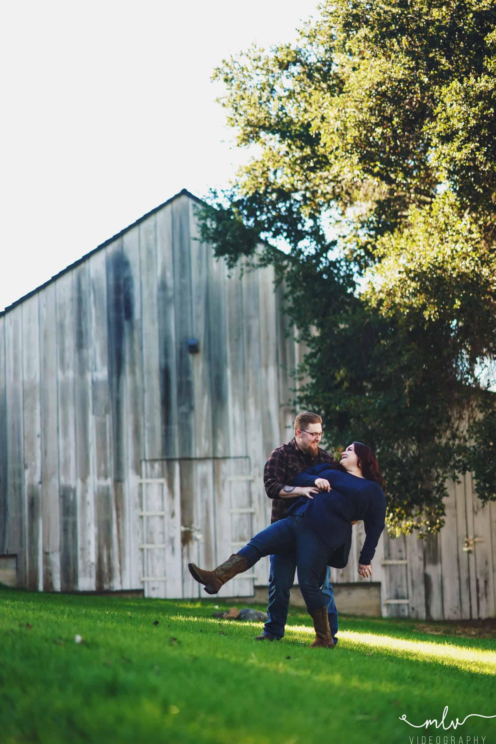 Bernal Historic Ranch Park Engagement Photography San Jose California