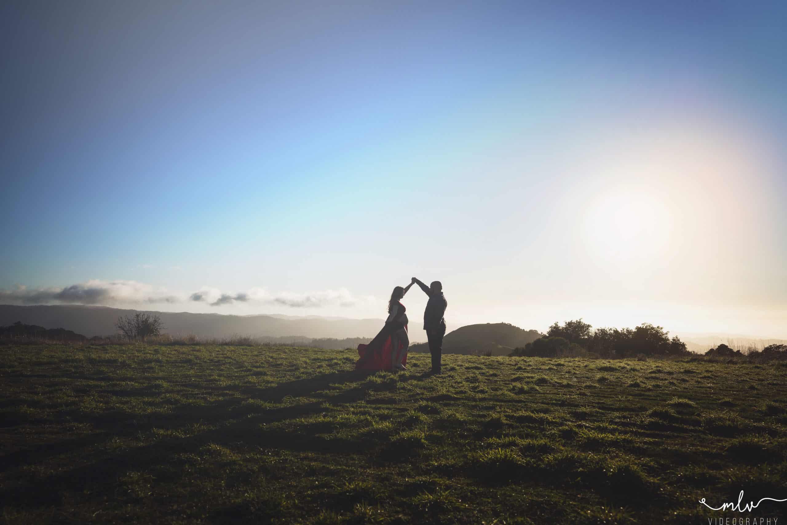 Maternity photography at Skyline Ridge Preserve